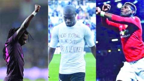 Le monde du foot réagit — Esclavage en Libye